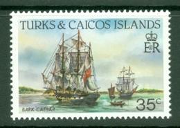 Turks & Caicos Is: 1983/85   Ships   SG776    35c  [Perf: 14]  MNH - Turks & Caicos (I. Turques Et Caïques)