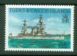 Turks & Caicos Is: 1983/85   Ships   SG778    65c  [Perf: 14]  MNH - Turks And Caicos