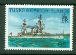 Turks & Caicos Is: 1983/85   Ships   SG778    65c  [Perf: 14]  MNH - Turks & Caicos (I. Turques Et Caïques)