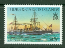 Turks & Caicos Is: 1983/85   Ships   SG779    95c  [Perf: 14]  MNH - Turks And Caicos