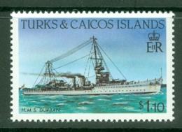 Turks & Caicos Is: 1983/85   Ships   SG780    $1.10  [Perf: 14]  MNH - Turks & Caicos (I. Turques Et Caïques)