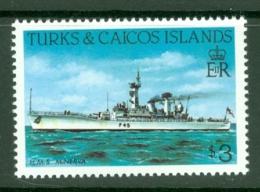 Turks & Caicos Is: 1983/85   Ships   SG782    $3  [Perf: 14]  MNH - Turks & Caicos (I. Turques Et Caïques)
