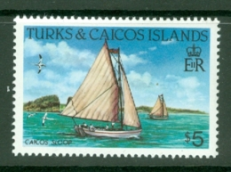 Turks & Caicos Is: 1983/85   Ships   SG783    $5  [Perf: 14]  MNH - Turks And Caicos