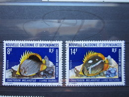 VEND BEAUX TIMBRES DE NOUVELLE-CALEDONIE N° 387 + 388 , XX !!! - New Caledonia