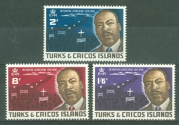 Turks & Caicos Is: 1968   Martin Luther King Commemoration     MH - Turks And Caicos