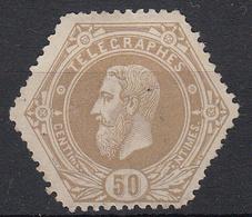 BELGIË - OPB - 1880/83 - TG 5A - (*) - Telegraphenmarken