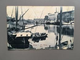 ELBING - Am Elbing - Hafen - Schiff - Boot - 1919 - Pologne