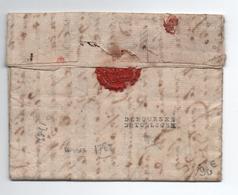 1783 - DEBOURSE DE TOULOUSE (HAUTE GARONNE) Sur LETTRE De NAMUR (BELGIQUE) - 1701-1800: Precursors XVIII