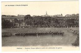 TRIPOLI - LA GUERRE ITALO-TURQUE - Cavalerie Turque Défilant La Veille De La Déclaration De Guerre - Libye