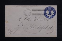 ETATS UNIS - Entier Postal De Chicago Pour La Belgique En 1893 - L 24962 - Entiers Postaux