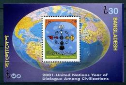 BANGLADESH 2001 DIALOGUE Civilizations Set MNH - Emissioni Congiunte