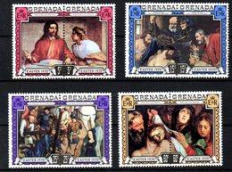 GRENADE. N°331-8 De 1970. Pâques/Rubens/Memling/Van Dyck. - Rubens