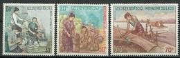Laos 1971 Mi 304-306 MNH ( ZS8 LAO304-306dav136 ) - Métiers