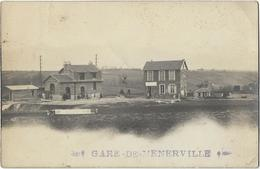 CPA 78 - GARE DE MENERVILLE - Autres Communes