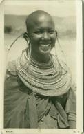 KENYA - MASAY GIRL - PHOTO G. LAWRENCE BROWN - RPPC POSTCARD 1940s ( BG2764) - Kenya