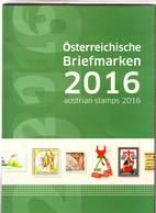 Année 2016 Faciale 76€ Livrée En Pochette - Autriche