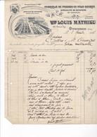 OYONNAX / 1921 / FABRIQUE DE PEIGNES LOUIS MATHIEU - France