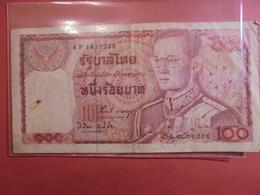 THAILANDE  100 BATH 1978 CIRCULER - Thaïlande