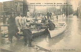Lot De 50 CPA Paris Et Région Parisienne Inondations De Janvier 1910 - Cartes Postales