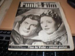 Funk Und Film 1948  Danielle Darieux Und Jean Marais - Magazines