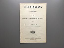 MOERKERKE - Gedichtenbundel - Retsin - Koster - Bloemenkarans - Damme