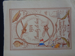 Carte Louis Daspet (1914) - Vieux Papiers
