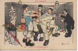 Illustrateur  GERVESE Série NOS MARINS N°39 Avant La Représentation - Gervese, H.