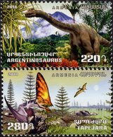 Armenia - 2018 - Flora And Fauna Of Ancient World - Mint Stamp Set - Arménie