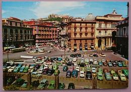 NAPOLI - Piazza Trieste E Trento - Auto Parking Many Old Cars  - Nv C2 - Napoli