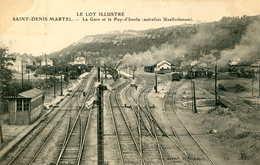 SAINT DENIS MARTEL  =  La Gare Et Le Puy  515 - Other Municipalities