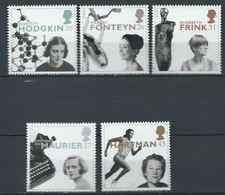 GROSSBRITANNIEN GRANDE BRETAGNE GB 1996 Women Of Achvievment Set 5v MNH SG 1935-39 SC 1693-97 MI 1647-51 YV 1905-1909 - 1952-.... (Elizabeth II)