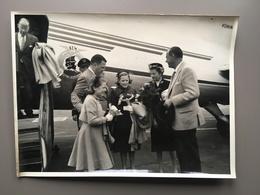 FORD Henry - Visiting Belgium - Melsbroek - KLM - Dakota - Auto's