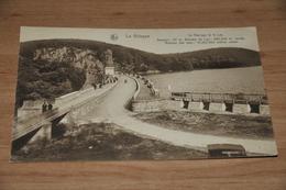 8166-   LA GILEPPE, LE BARRAGE ET LE LAC - Gileppe (Barrage)