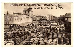 SFAX - Le Quai Du Commerce - Exportation Des Huiles D' Olives - Túnez