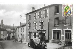 52  CPSM  BOURBONNE- LES- BAINS   RUE DE LA CHAVANNE - France