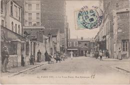 75 Paris 016 Le Vieux Passy  Rue Petrarque - Arrondissement: 16