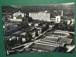 Cartolina Istituti Filippin - Paderno Del Grappa - Veduta Aerea - 1951 - Treviso