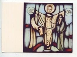 Eric De Saussure - Frère Eric De Taizé 1925/2007 Vitrail église De La Réconciliation - TRANSFIGURATION (cp Vierge) - Arts