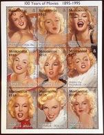 Montserrat 1995 Marilyn Monroe Sheetlet MNH - Montserrat