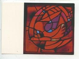 Eric De Saussure - Frère Eric De Taizé 1925/2007 Vitrail église De La Réconciliation - PENTECOTE (cp Vierge) - Arts