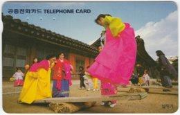 SOUTH KOREA A-358 Magnetic Telecom - Culture, Traditional Life - Used - Korea (Süd)