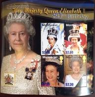 Montserrat 2006 Queen's 80th Birthday Sheetlet MNH - Montserrat