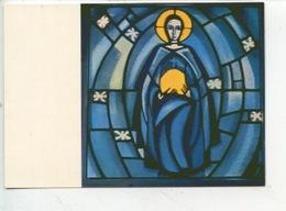 Eric De Saussure - Frère Eric De Taizé 1925/2007 Vitrail église De La Réconciliation - ASCENSION (cp Vierge) - Arts