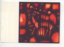 Eric De Saussure - Frère Eric De Taizé 1925/2007 Vitrail église De La Réconciliation - PAQUES (cp Vierge) - Arts