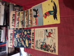 Lot De 6 Vieux Tintin Numeros 220-390-399-195-204-389 - Boeken, Tijdschriften, Stripverhalen