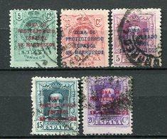 Spanische Post In Marokko Lot       O  Used       (001) - Spanisch-Marokko