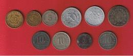 Allemagne  - Lot De 10 Monnaies --  états Divers - Germany