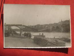 Maribor / Marburg - Gesprengte Brücke / Holzlager - Slovenia
