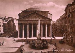 - ROMA. - Il Pantheon - Scan Verso - - Panthéon