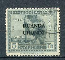 Ruanda - Urundi Nr.17       O  Used       (001) - 1924-44: Gebraucht